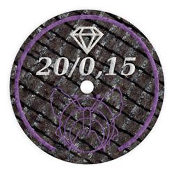 20 - 0,15 mm Trennscheibe mit Diamantkorn für Keramik und Zirkon | günstig bestellen bei WEBER DENTAL STUTTGART