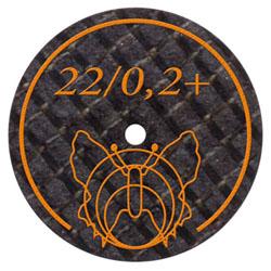 22 - 0,25 mm Trennscheibe mit Glasfaserverstärkung für alle EM + NEM Legierungen | günstig bestellen bei WEBER DENTAL STUTTGART