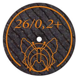 26 - 0,25 mm Trennscheibe mit Glasfaserverstärkung für alle EM + NEM Legierungen | günstig bestellen bei WEBER DENTAL STUTTGART