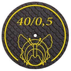 40 - 0,5 mm Trennscheibe mit Glasfaserverstärkung für alle EM + NEM Legierungen | günstig bestellen bei WEBER DENTAL STUTTGART