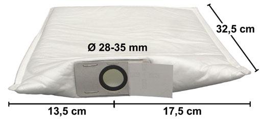 4 Stück Filterbeutel für Airbox und viele andere Dentalabsauganlagen | günstig bestellen bei WEBER DENTAL STUTTGART