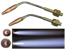 Spitzflammen-Einsatz mittel  für Propan-Sauerstoff Schmelzgerät | günstig bestellen bei WEBER DENTAL STUTTGART