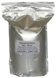 Glanzstrahl-Perlen 2x 3,5 kg Beutel  | günstig bestellen bei WEBER DENTAL STUTTGART