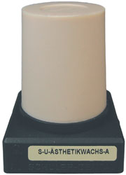 S-U-Ästhetikwachs-A, beige, hart 45 g Kegel, für Kronen, Inlays, Kauflächen | günstig bestellen bei WEBER DENTAL STUTTGART