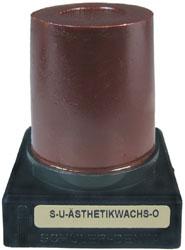 S-U-Ästhetikwachs-O, braun, weich 45 g Kegel, für Cervicalrand, als Unterziehwachs | günstig bestellen bei WEBER DENTAL STUTTGART