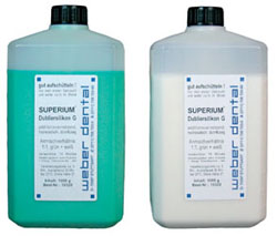 SUPERIUM Dubliersilikon G 2x 1 kg Flasche | günstig bestellen bei WEBER DENTAL STUTTGART