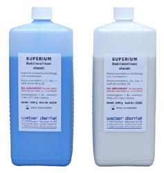 SUPERIUM Dubliersilikon classic - 2x 1 kg Flasche | günstig bestellen bei WEBER DENTAL STUTTGART