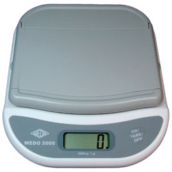 Digitalwaage Wedo 2000  | günstig bestellen bei WEBER DENTAL STUTTGART