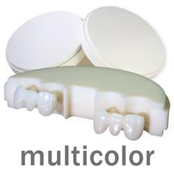 priti multidisc ZrO2 multicolor Translucent  | günstig bestellen bei WEBER DENTAL STUTTGART