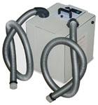 Airbox Twin, Staub-Absauganlage für zwei Saugstellen mit Doppelfilter | günstig bestellen bei WEBER DENTAL STUTTGART