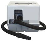 Mehr Details und Kaufen von Minibox EMC, kleine tragbare Absaugung mit Micromotor Einschaltautomatik | günstig bestellen bei WEBER DENTAL STUTTGART