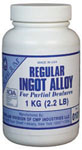 NOBILIUM Regular Ingot Alloy 1 kg Dose, Alloy in Würfelform | günstig bestellen bei WEBER DENTAL STUTTGART