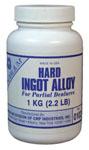 NOBILIUM Hard Ingot Alloy - 1 kg Dose  | günstig bestellen bei WEBER DENTAL STUTTGART