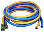 Schlauchpaket Gas + O2, Länge 2,5m  mit Verschraubungen an einem Ende | günstig bestellen bei WEBER DENTAL STUTTGART