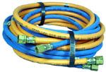 3 m Schlauchset Propan + Sauerstoff - Verschraubungen an beiden Enden | günstig bestellen bei WEBER DENTAL STUTTGART