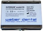 SUPERIUM modell-FH 250 g Box | günstig bestellen bei WEBER DENTAL STUTTGART