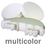 priti multidisc ZrO2 multicolor High Translucent  | günstig bestellen bei WEBER DENTAL STUTTGART