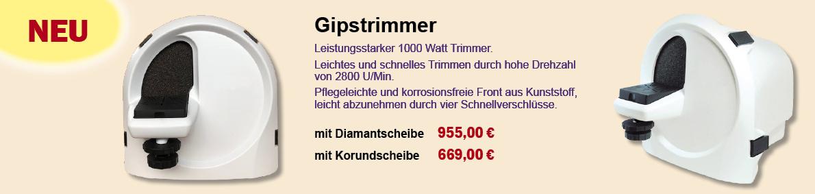 Gipstrimmer slide