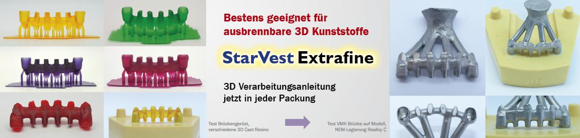 StarVest Extrafine - 3D Verarbeitung slide